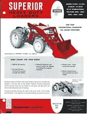 Equipment Brochure Superior Loader Blade Attachments For Tractor E5452