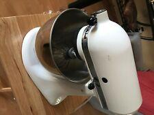 White KitchenAid KSM90 300W Ultra Power Stand Mixer