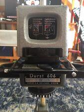 Vintage Durst 606 Photo Enlarger W/Stand+Base