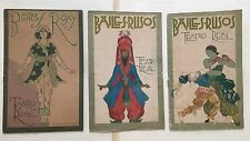 SANTANA BONILLA BAILES-RUSOS TEATRO REAL BALLETS RUSSES DE SERGE DIAGHILEW 1917
