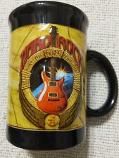 "Large Hard Rock Cafe Raised 3D Coffee Mug Love All Serve all 16 oz  5""  tall"