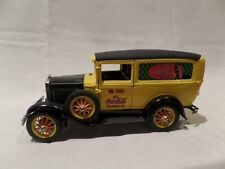 """COCA-COLA 1931 MODEL """"A"""" FORD PANEL DELIVERY TRUCK BY DANBURY MINT-1996"""