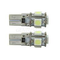 2X No Error CANBUS T10 147 168 194 W5W 5 SMD LED Bombilla Luz Lámpara para Coche
