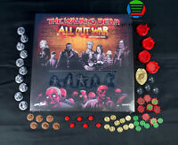 Mantic Games The Walking Dead All Out War Miniatures Game Core Set + 3D TOKENS!!