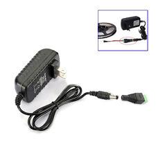AC 110V To DC 12V 2A 24W Adapter Power Supply Transformer For LED Strip Light US