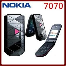 Nokia 7070 Prism - Pink black blue (Unlocked) 2G GSM Triband Cellular Phone