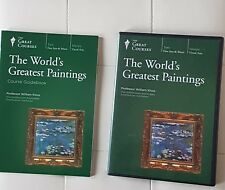 Great Courses -World's Greatest Paintings, Teaching co,Dvd Book s, William Kloss
