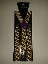HARRY Potter tipo viola e giallo Reggicalze Bretelle Per Costume