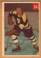 1954-55 , PARKHURST , WARREN GODFREY , CARD #56