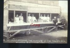 REAL PHOTO WILLISTON NORTH DAKOTA COUNTY FAIR SOCIAL WORKERS POSTCARD COPY