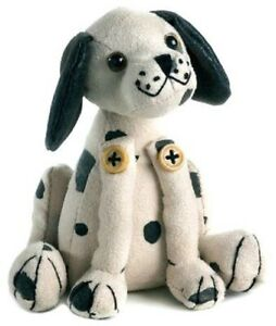 Vintage Dora Design Dalmatian Sitting Lavender Paperweight NWT Free Shipping
