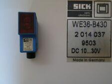 SICK Lichtschranke Empfänger WE36-B430 2 014 037 9503 18-4-3  #2327