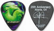 Sevendust color/black guitar pick