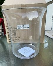 Large New Partylite Bubble Glass Candle Hurricane Fits Seville Newport