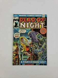 DEAD OF NIGHT #1 Dec 1973 Marvel Comics Horror Haunted House Bronze John Romita