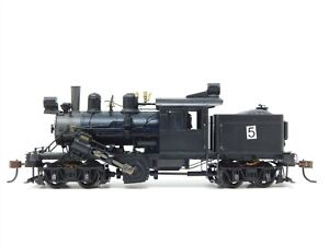 HO Scale Bachmann Unlettered Climax Logging Steam Locomotive DOES NOT RUN