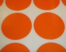500 Orange 20mm 1.9cm Points de Code de Couleur Rond Stickers Adhésif Étiquettes