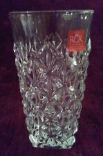 RCR Royal Crystal Rock ENIGMA Highball Glasses - Set/6 - NEW in Box - FREE SHIP