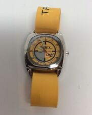 The Remz Watch By Belief Brand Yellow Rubber Strap TRUST