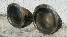 2 Optiques phares bateaux trains anciens lampes éclairages Déco industrielle