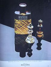 PUBLICITÉ DE PRESSE 1977 PARFUM MONSIEUR DE ROCHAS - ADVERTISING
