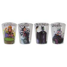 Disney  DP031SG5 Villains Mini Glass Set, 4-Pack