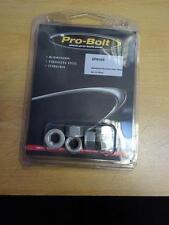 Pro-Bolt Sprocket Nuts (x6) Aluminium 10mm Silver
