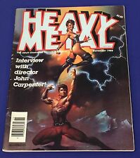 Heavy Metal The Adult Illustrated Fantasy~ 1985 November ~