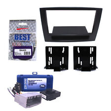 Radio Replacement Interface & Dash Install Kit 2-DIN w/Pocket for Dodge No-Nav