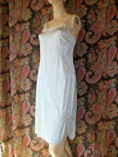 Vintage Vanity Fair Gray Silky Nylon Slip Nighty Lingerie 36