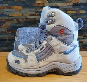 THE NORTH FACE SUMMIT SERIES GORE-TEX WALKING BOOTS WOMENS SIZE 5 UK. OATMEAL/GR