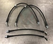 300zx F+R Conver StainlessSteel Brake Lines for 1989-1998 Nissan 240SX