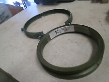 Flange, Inner w/Clamp, for TOW Miss Storage Tube, Used, Alum