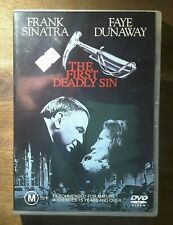 "Frank Sinatra Movie "" The First Deadly Sin "" DVD (1980) Faye Dunaway - REGION 4"