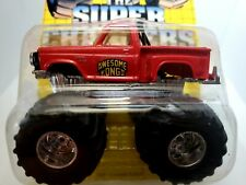 Matchbox Super Chargers Monster Pickup Truck 4X4 Awesome Kong II SC6 Full Card