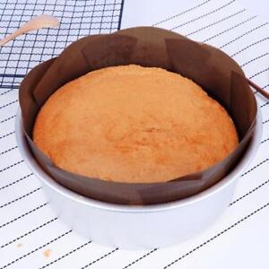 Khaki Cake Tin Liner Non-Stick Reusable Heat-Resistant For Baking Pan Sheet BT