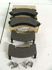 ACDelco GM OEM Disc Brake Pad Set Front 15030115  for 1982-1993 S-10 Blazer