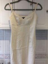 Principles Lemon Yellow Cotton Linen Dress Size 8