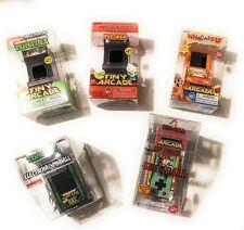 Tiny Arcade TMNT, Hello Kitty-PacMan, WacAMole, SkeeBall, TMNT Pinball (5 Items)