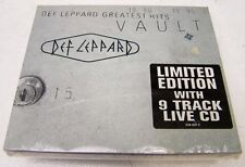 DEF LEPPARD - GREATEST HITS VAULT 80/95  - CD+ CD LIVE  LTD ED  - MINT SIGILLATO