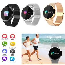 Chic Bluetooth Smart Watch Wristwatch with Heart Rate Monitor for Samsung iPhone