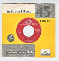 BOSTON POPS ORCHESTRA A FIEDLER Vinyl 45T POETE ET PAYSAN -VOIX MAITRE 1027 RARE