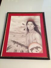 Donald Art Company / Young Native American Warrior / Amy Franks