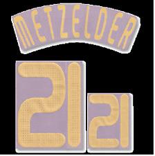 Original DFB Deutschland Metzelder Flock für Away Adidas Trikot EM2008 Quali2010