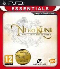 & Ni No Kuni Wrath of The White Witch Sony PlayStation 3 Ps3 Game
