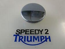 TRIUMPH BONNEVILLE THRUXTON SCRAMBLER CHROME PETROL FUEL CAP T2400597