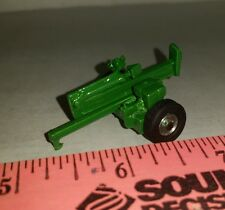 1/64 ERTL custom farm toy pull behind moveable metal green log splitter display!