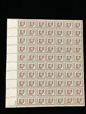 US MINT SHEET SCOTT  #1018 3 Cent Stamp Ohio Statehood MNH OG