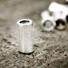 100pcs  Tibetan Silver Loose Spacer Metal Bead Necklace 11.5x5x5mm