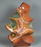 7.13LB  Natural Polychrome Ocean Jasper Crystal Torch Flame Freeform Specimen